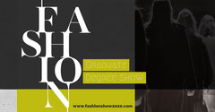 Greyscale Catwalk Typographic Style Facebook Event Cover Fashion Show