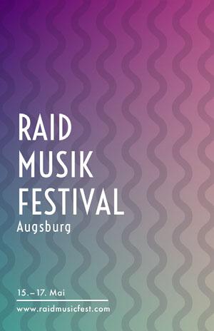 RAID <BR>MUSIK FESTIVAL  Veranstaltungsplakat