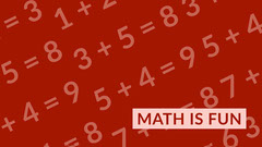 Red Mathematics Zoom Background Teacher