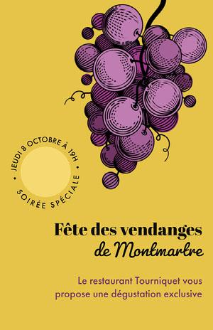 de Montmartre Affiche événementielle