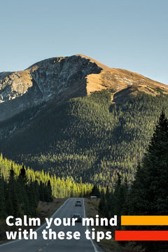 Mountain Road Calm Mind Pinterest Mountains