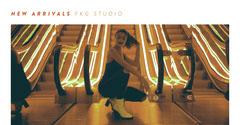 NEW ARRIVALS FKG STUDIO Neon