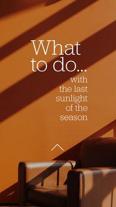 Orange White Autumn Ideas Instagram Story  Sweet Home