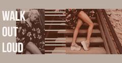 WALK<BR>OUT <BR>LOUD Shoes