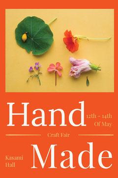 Handmade Craft Fair Poster Fairs