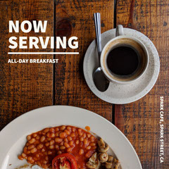NOW<BR>SERVING Restaurants