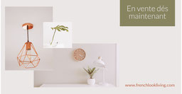 Off-white  and olive green Interior Design - Facebook Ad