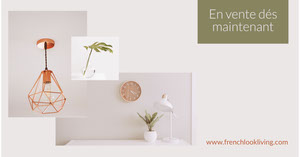 Off-white  and olive green Interior Design - Facebook Ad Flyer publicitaire