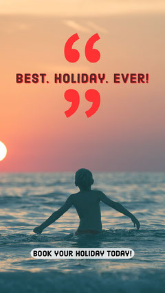 Best. Holiday. Ever! Vacation