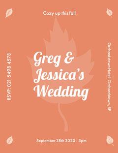 Greg &<BR>Jessica's <BR>Wedding Fall
