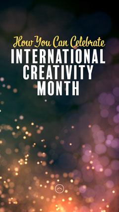 How to celebrate International creativity IG Story Celebration