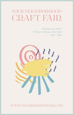 Your Neighbourhood Craft Fair Poster Fairs