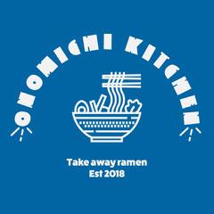 Blue Ramen Restaurant Logo Ramen
