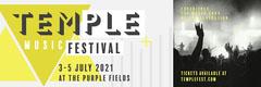Green & Grey Geometric Music Festival Web Banner Festival