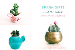 White Spark Gifts Plant Sale Advertisement House For Sale Flyer