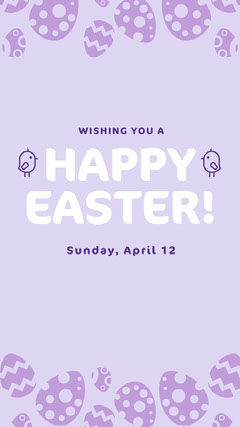 happy easter day instagram story Easter