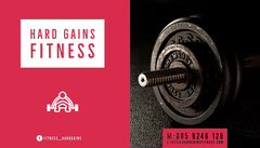 HARD GAINS FITNESS Health Posters