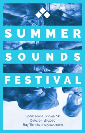 SOUNDS Music Festival Poster