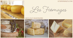 French Cheese Shop Facebook Post Ad with Collage Cheese