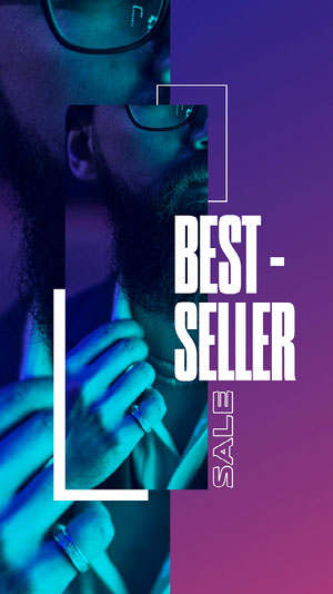 Best Seller Sale Instagram Story imagens grátis para sua loja no Instagram