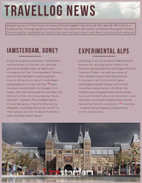 Pink Amsterdam Netherlands Travel and Tourism Newsletter Newsletter Examples