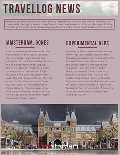 Pink Amsterdam Netherlands Travel and Tourism Newsletter Agency