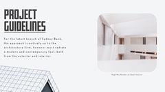 Architecture Project Guidelines Presentation Slide Architecture