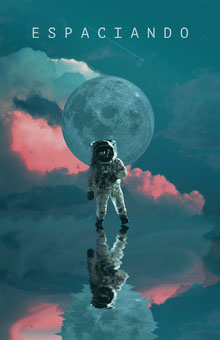 spacing out astronaut poster Cartel