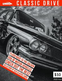 CLASSIC DRIVE Magazine Cover