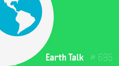 Green and Blue Earth Talk Podcast Youtube Thumbnail Earth