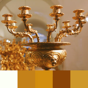 Color Palettes | Metallics 1 101 Brilliant Color Combos