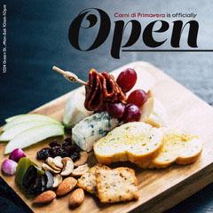 Italian Restaurant Opening Instagram Square Ad Cheese