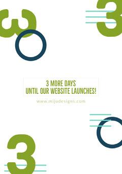 Website Launch Announcement Ad Countdown