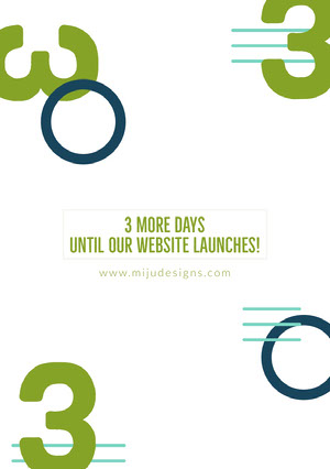 Website Launch Announcement Ad Aankondiging