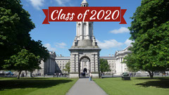 Class of 2020 Graduation Themed Campus Photo Zoom Background College