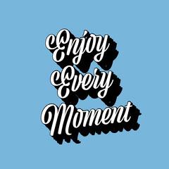 enjoy the moment instagram  Blue