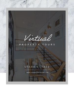 virtual property tour instagram portrait  COVID-19 Re-opening