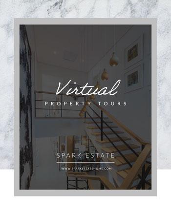 virtual property tour instagram portrait  COVID-19 Re-opening