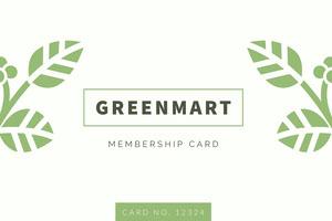 GREENMART  Id-kort