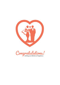 Congratulations! 結婚賀卡