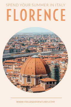 Orange Florence Italy Travel and Tourism Pinterest Ad Italy