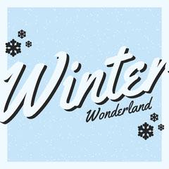 winter wonderland igsquare  Blue