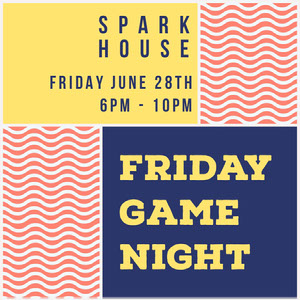 FRIDAY GAME NIGHT Spillekort