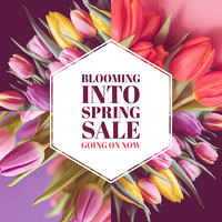 Blooming  Into  Spring  Sale  Going On Now Top Social Media Sites