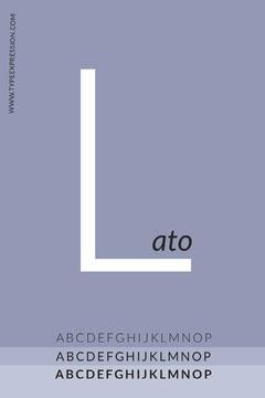 Pinterest typography design ad  Purple
