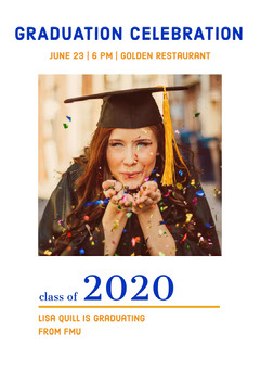 2020 Graduation Congratulation