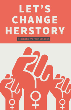LET'S CHANGE HERSTORY Campaign