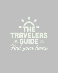 Gray Travel Guide Cover with Logo Guide
