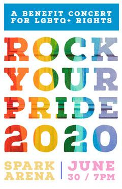 ROCK YOUR PRIDE<BR>2020 Rock Concert