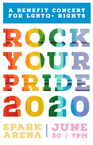 ROCK YOUR PRIDE<BR>2020 Concert Poster